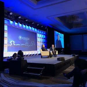 On Stage at Coupa Inspire - http://www.coupainspire.com