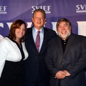 Janet Wozniak, Al Gore, Woz